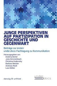 """Cover des Tagungsbandes """"Junge Perspektiven auf Partizipation in Geschichte und Gegenwart"""""""